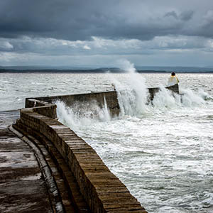 Big Waves at Burghead - Spectacular Edinburgh Photography