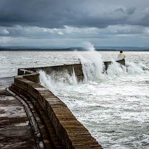 Big Waves at Burghead - Spectacular Edinburgh Photography