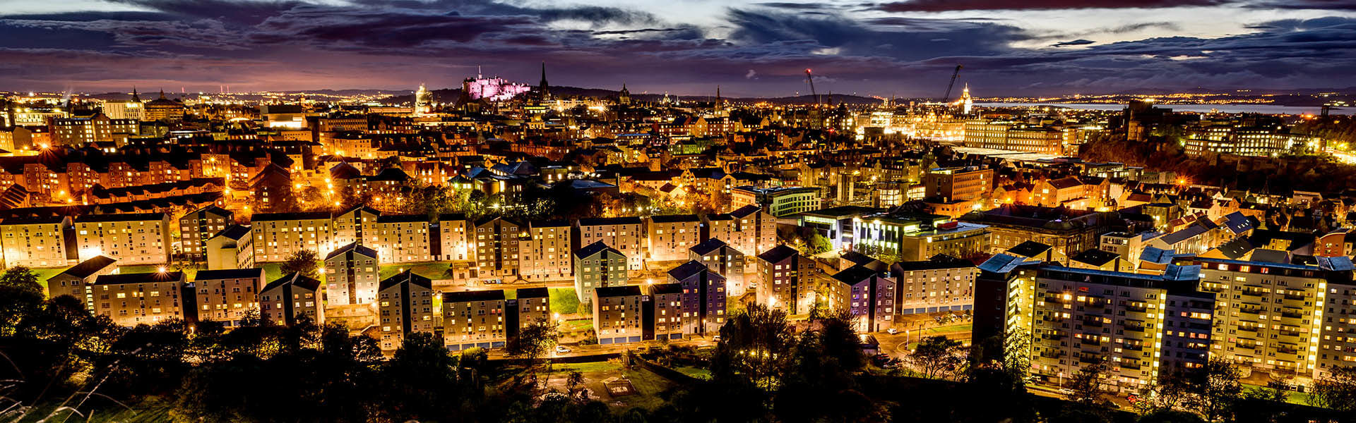 Golden City of Edinburgh - Spectacular Edinburgh Photography