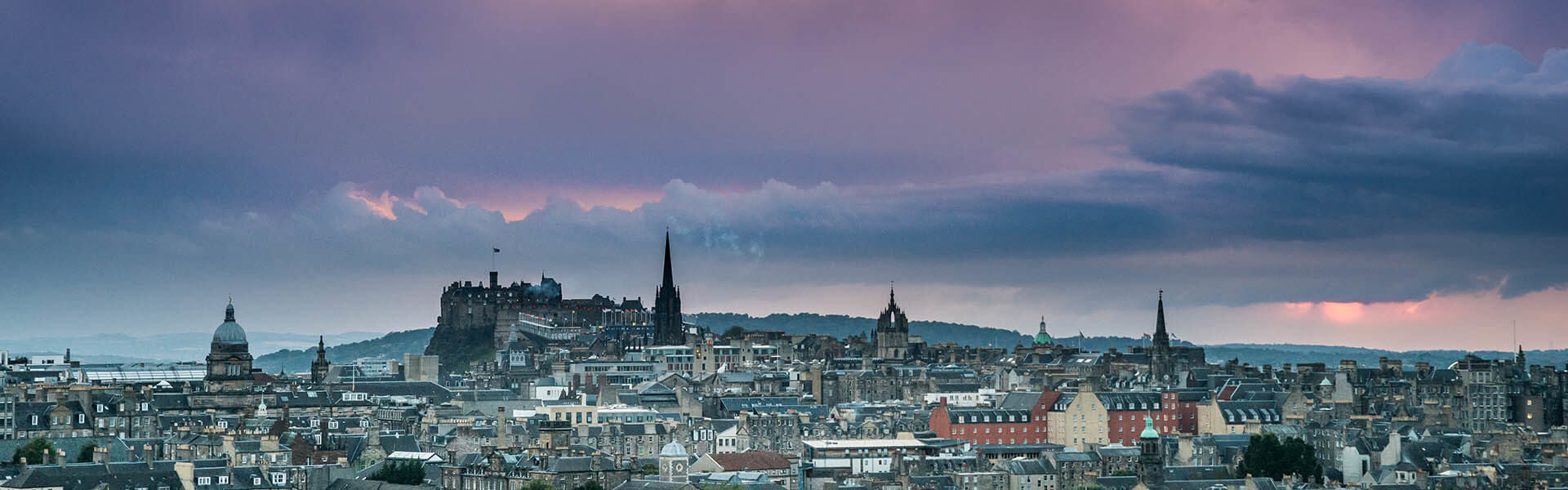 Stormy Skies over Edinburgh Castle - Spectacular Edinburgh Photography