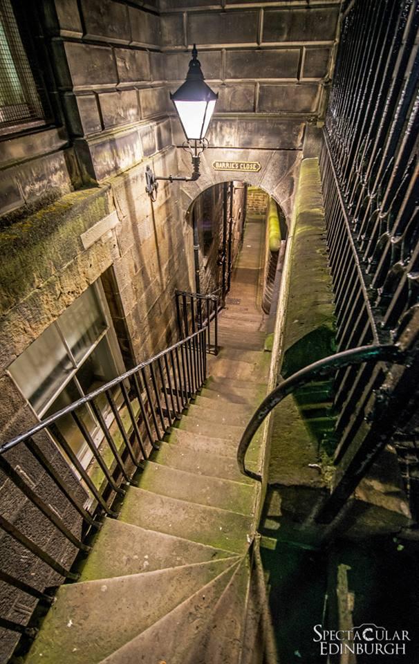 Barrie's Close in Edinburgh - Spectacular Edinburgh Photography