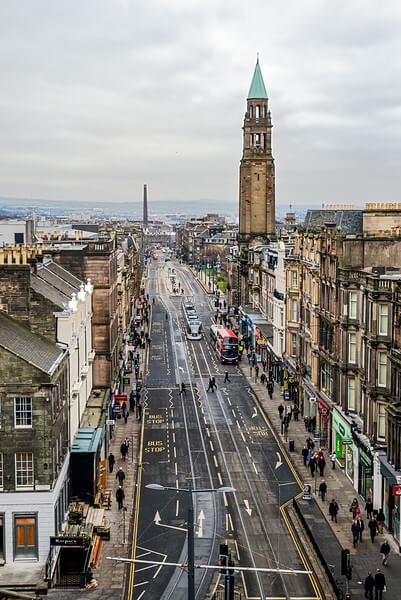 Best Toilet View in Edinburgh - Spectacular Edinburgh Photography