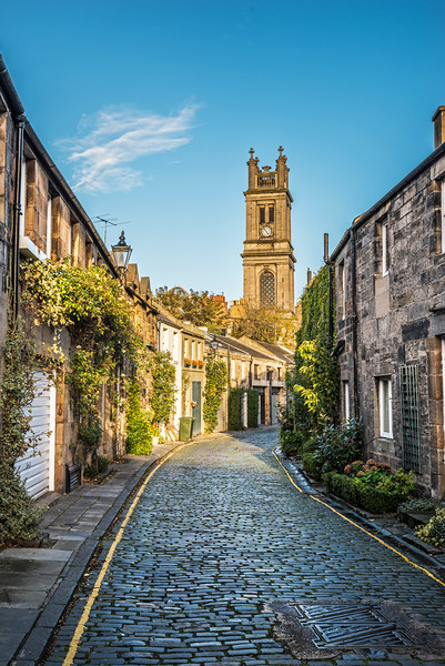 Circus Lane - Spectacular Edinburgh Photography