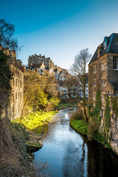 Dean Village Bridge looking south-west - Spectacular Edinburgh Photography