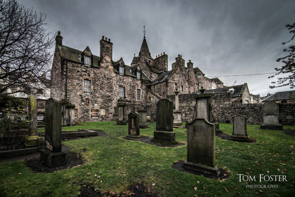 Graveyard behind the Tolbooth - Spectacular Edinburgh Photography