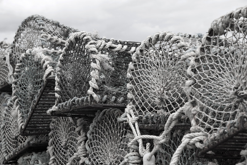 Lobster Pots at John O' Groats - Spectacular Edinburgh Photography