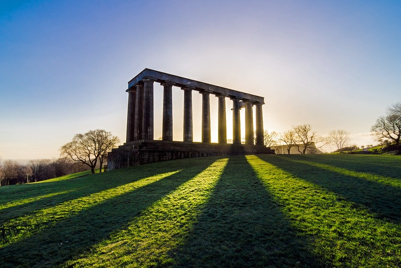 National Monument - Spectacular Edinburgh Photography