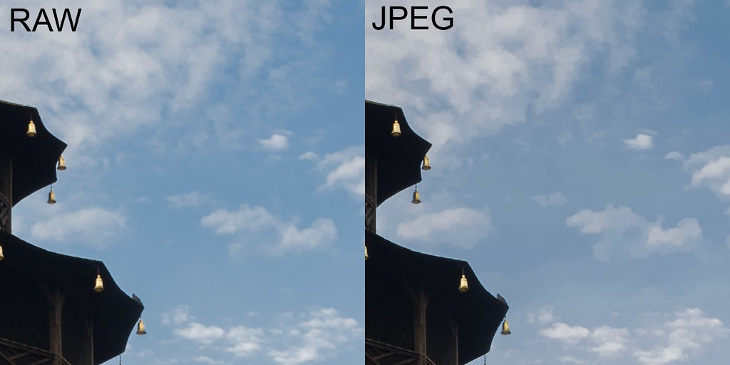 Pagoda in Munich's Englischer Garten (JPEG vs RAW comparison 2) - Spectacular Edinburgh Photography