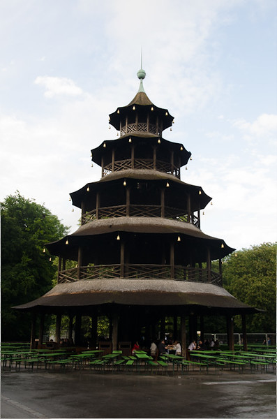 Pagoda in Munich's Englischer Garten - Spectacular Edinburgh Photography