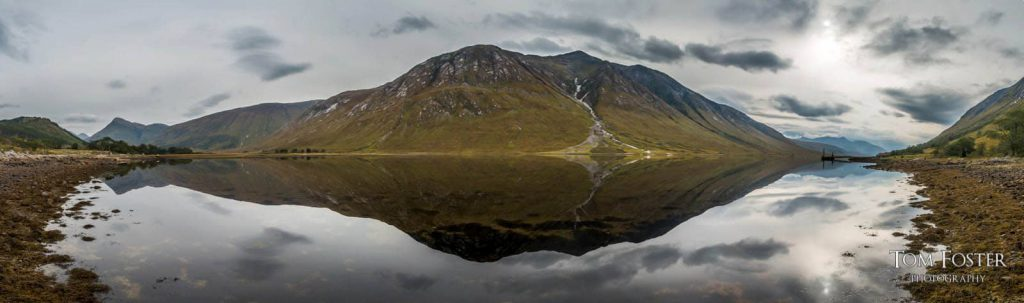 Panorama of Ben Starav from Glen Etive - Spectacular Edinburgh Photography
