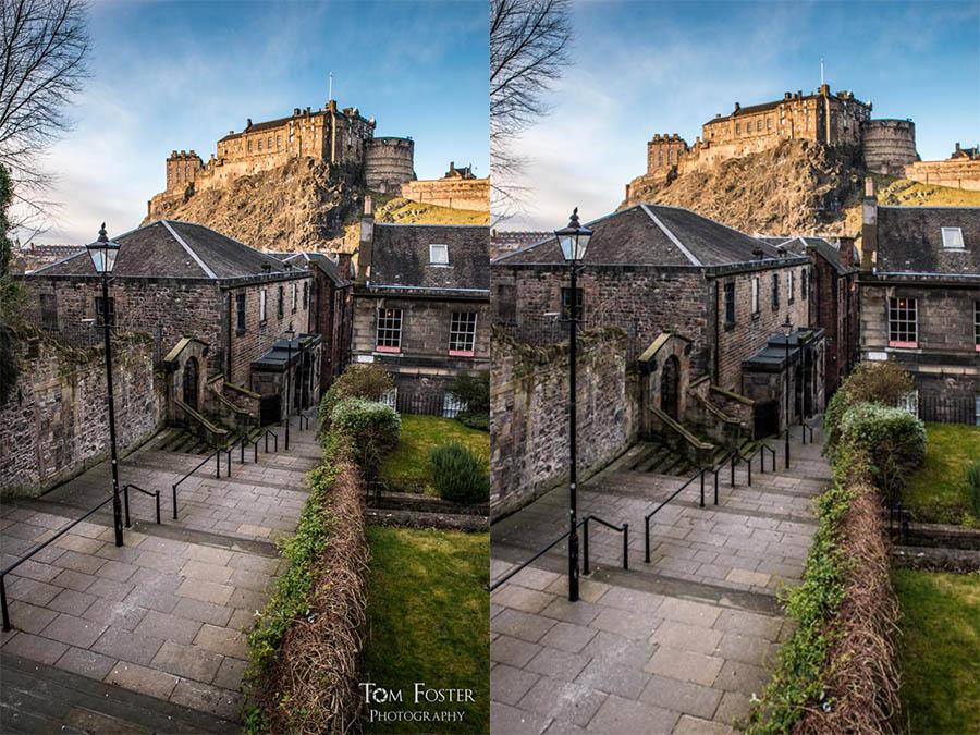 Shoot a little wide! - Spectacular Edinburgh Photography