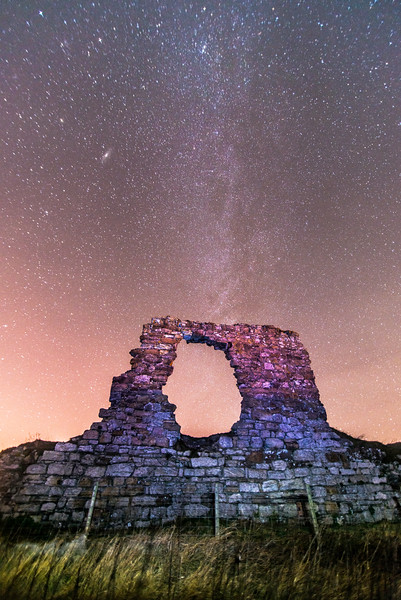 Three Galaxies - Spectacular Edinburgh Photography