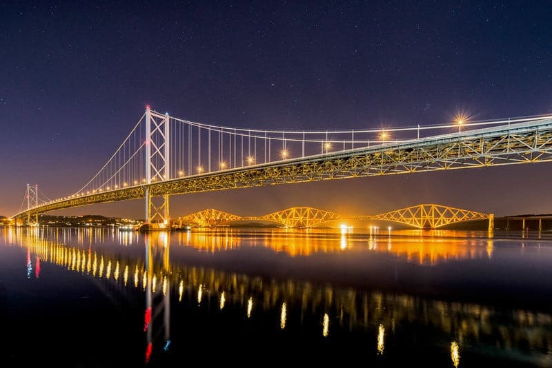 Two Forth Bridges - Spectacular Edinburgh Photography