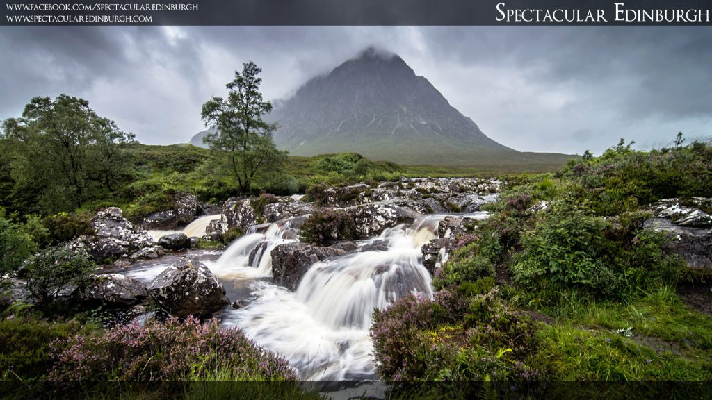 Wallpaper 11 - Buachaille Etive Mor from the River Coupall - Spectacular Edinburgh Photography