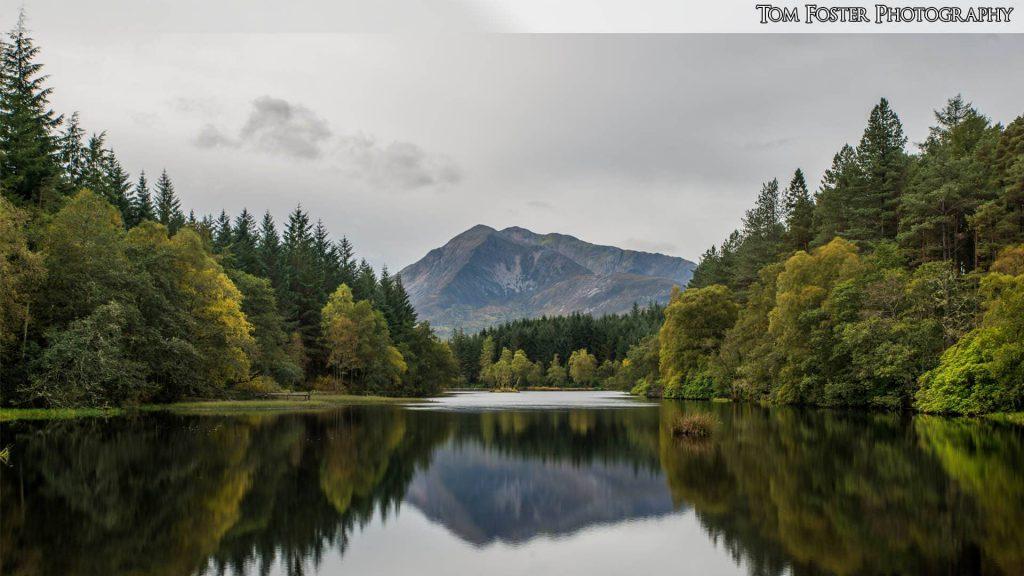 Wallpaper 13 - Reflections on Glencoe Lochan - Spectacular Edinburgh Photography