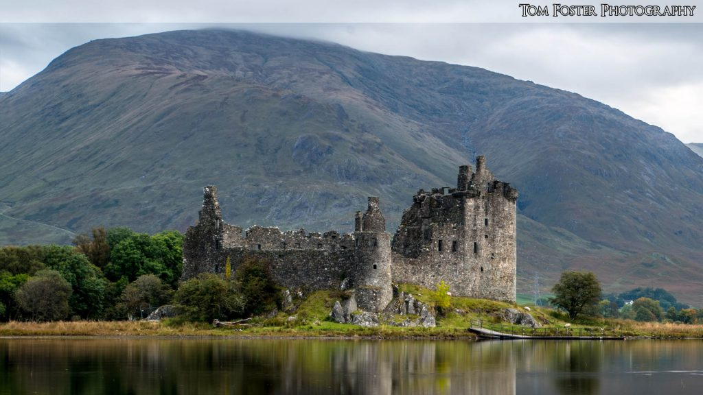 Wallpaper 14 - Kilchurn Castle - Spectacular Edinburgh Photography