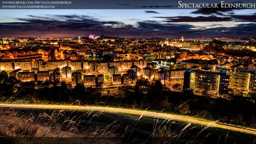 Wallpaper 4 - Golden City of Edinburgh - Spectacular Edinburgh Photography