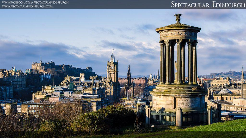 Wallpaper 9 - A Classic Calton View - Spectacular Edinburgh Photography
