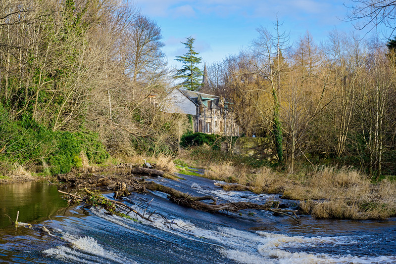 Water of Leith Weir - Spectacular Edinburgh Photography