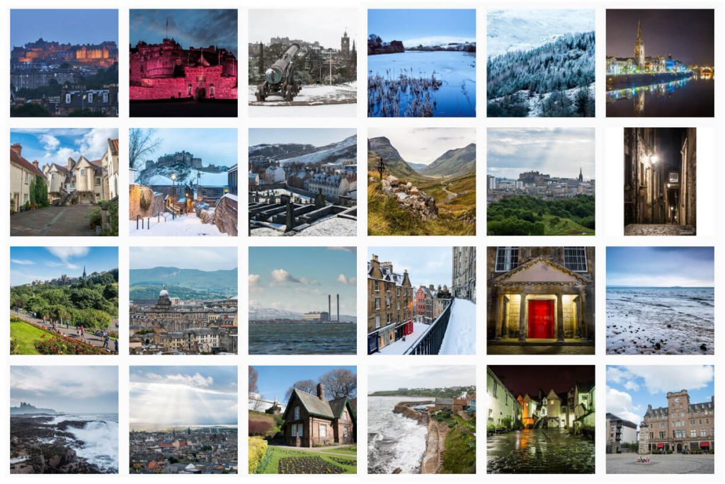 Spectacular Edinburgh Photography Instagram Page
