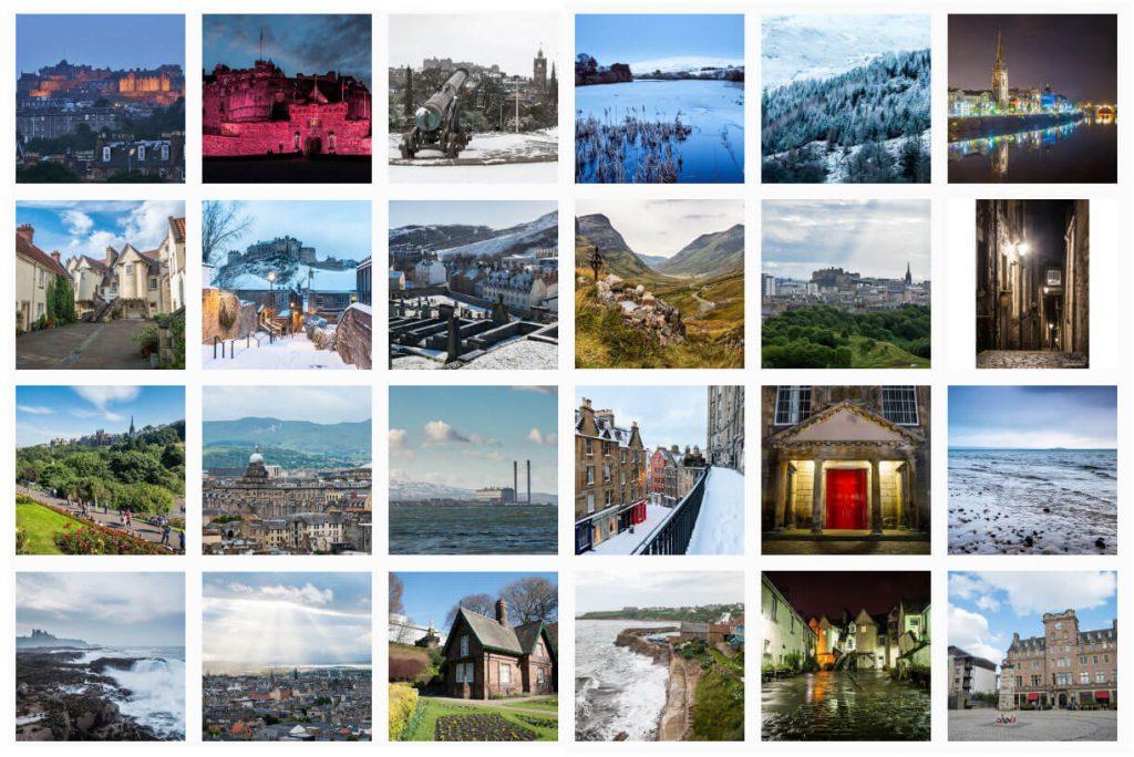 Spectacular Edinburgh Photography Instagram Page