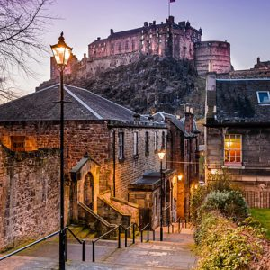 Twilight Vennel - Spectacular Edinburgh Photography