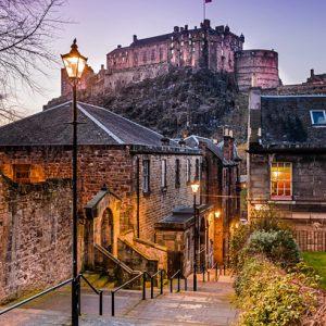 Twilight Vennel - Spectacular Edinburgh Photography