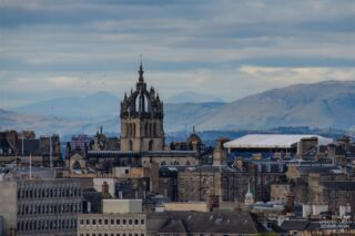 Using a long telephoto lens can lead to some interesting pictures, mountains behind St Giles anyone?  ~~~ Tom 😀